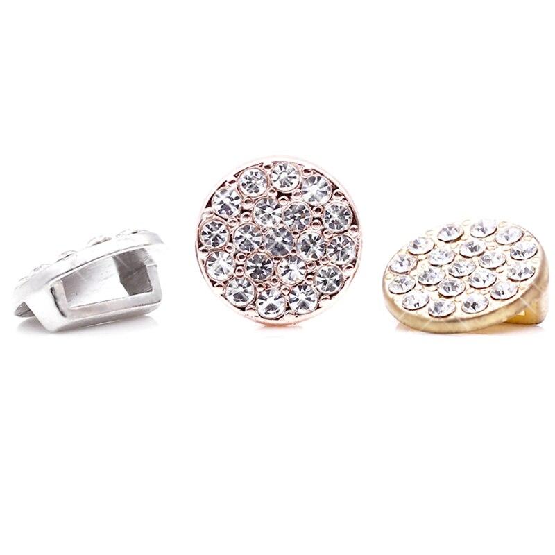 2 шт серебро розовое золото ракета Медведь Сердце Бусины Шарм Подходит 10 мм Нержавеющая сталь сетка браслет часы браслет в виде ремня из бисера - Цвет: GHJ00 (21)