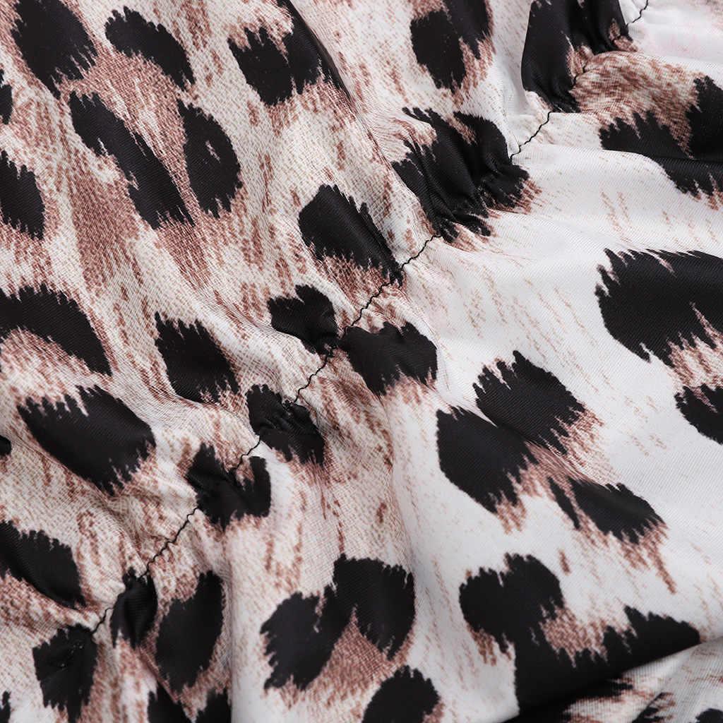 2019, сексуальный леопардовый принт, без рукавов, обтягивающий женский комбинезон, женский комбинезон, женские комбинезоны, женский комбинезон размера плюс