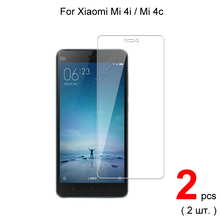 Xiaomi mi 4i mi 4Cプレミアム 2.5D 0.26 ミリメートル強化ガラススクリーンプロテクターxiaomi Mi4i Mi4c mi 4C保護ガラス