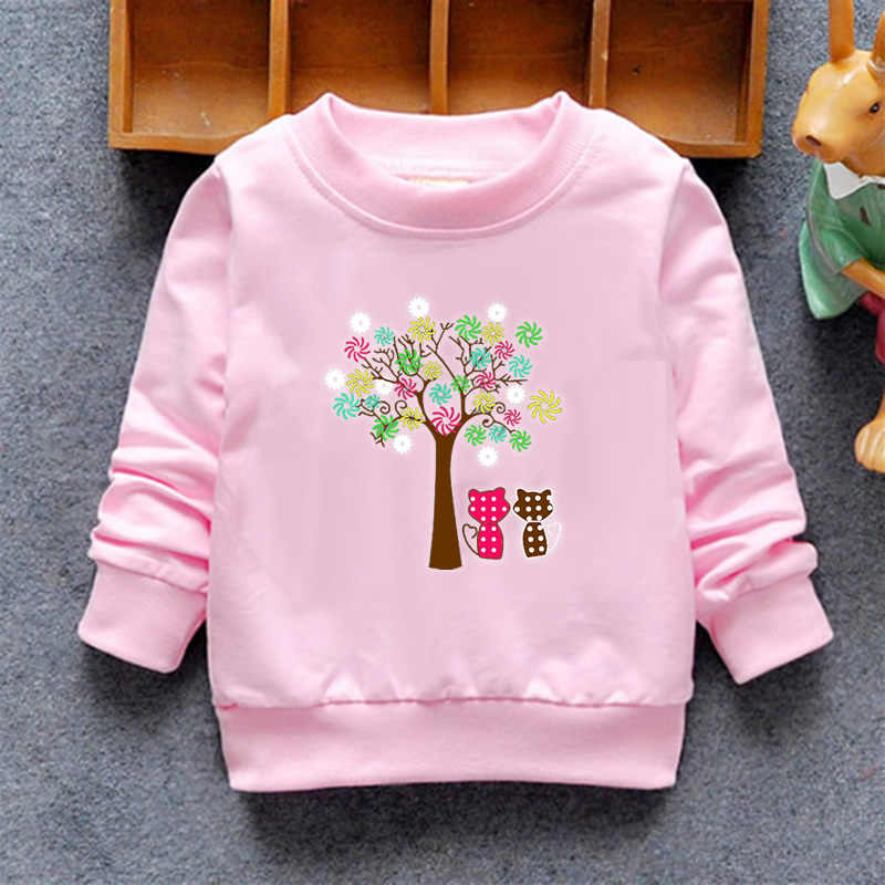 2020 아기 소녀 스웨터 겨울 봄 가을 블라우스 어린이 후드 6 고양이 긴 소매 스웨터 키즈 티셔츠 자켓