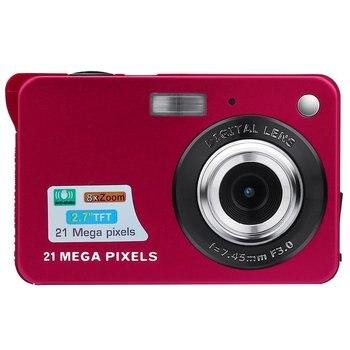 Цифровая камера 2019 2.7HD экран Цифровая камера 21MP анти-встряхнуть лицо камера-регистратор с датчиком движения черный белый