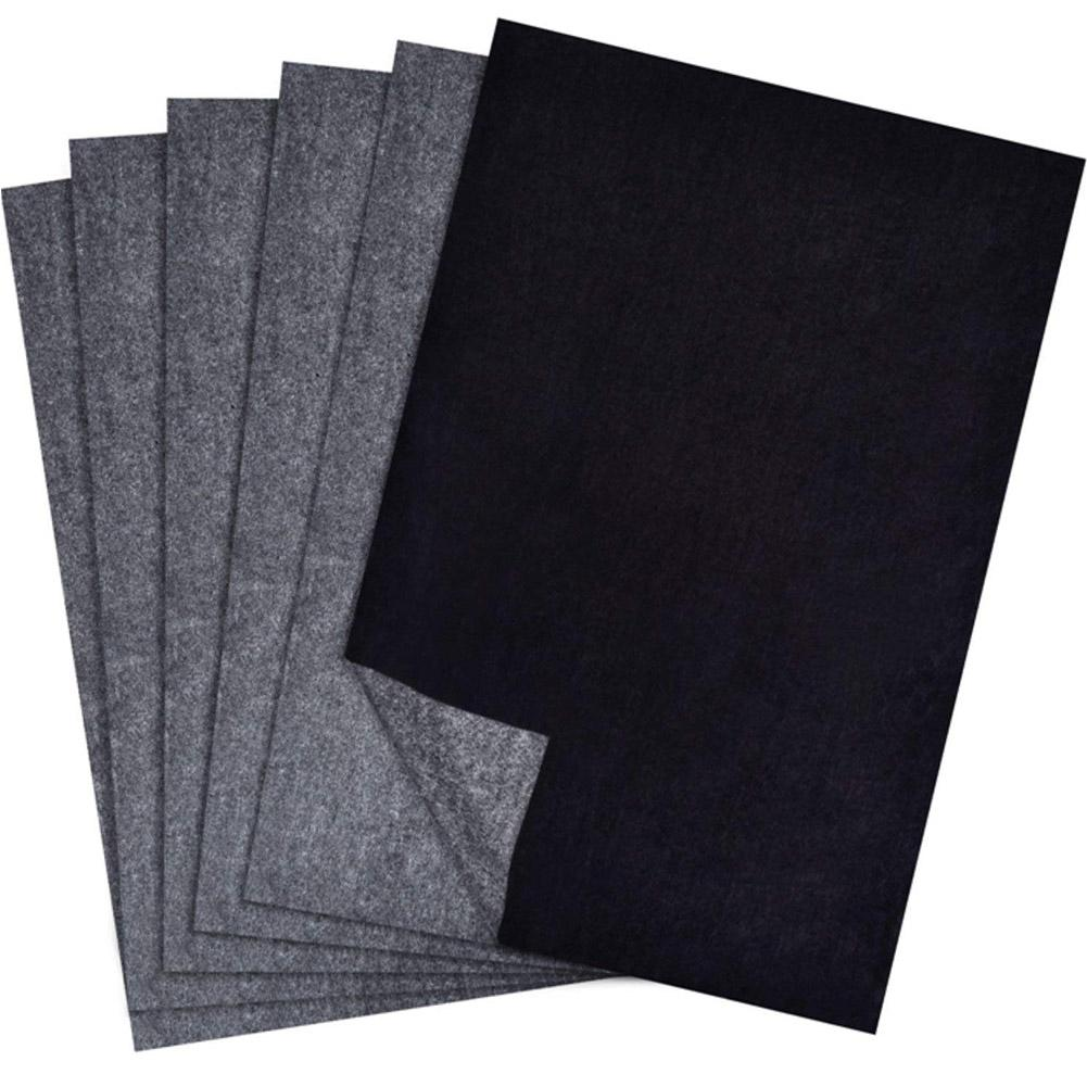 Carbon Transfer Paper Tracing For Wood Paper Canvas 25 Sheets Smooth Writing #BW