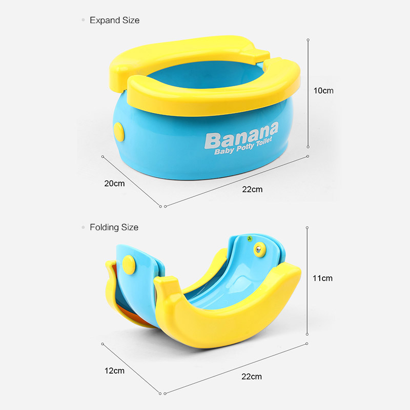 Banana Travel Baby Potty