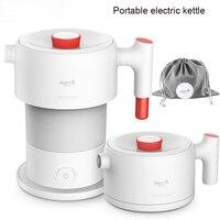 Xiaomi-TETERA eléctrica portátil Deerma, electrodomésticos de cocina, hervidor de agua eléctrico, viaje, plegable, 0.6L, tetera de café