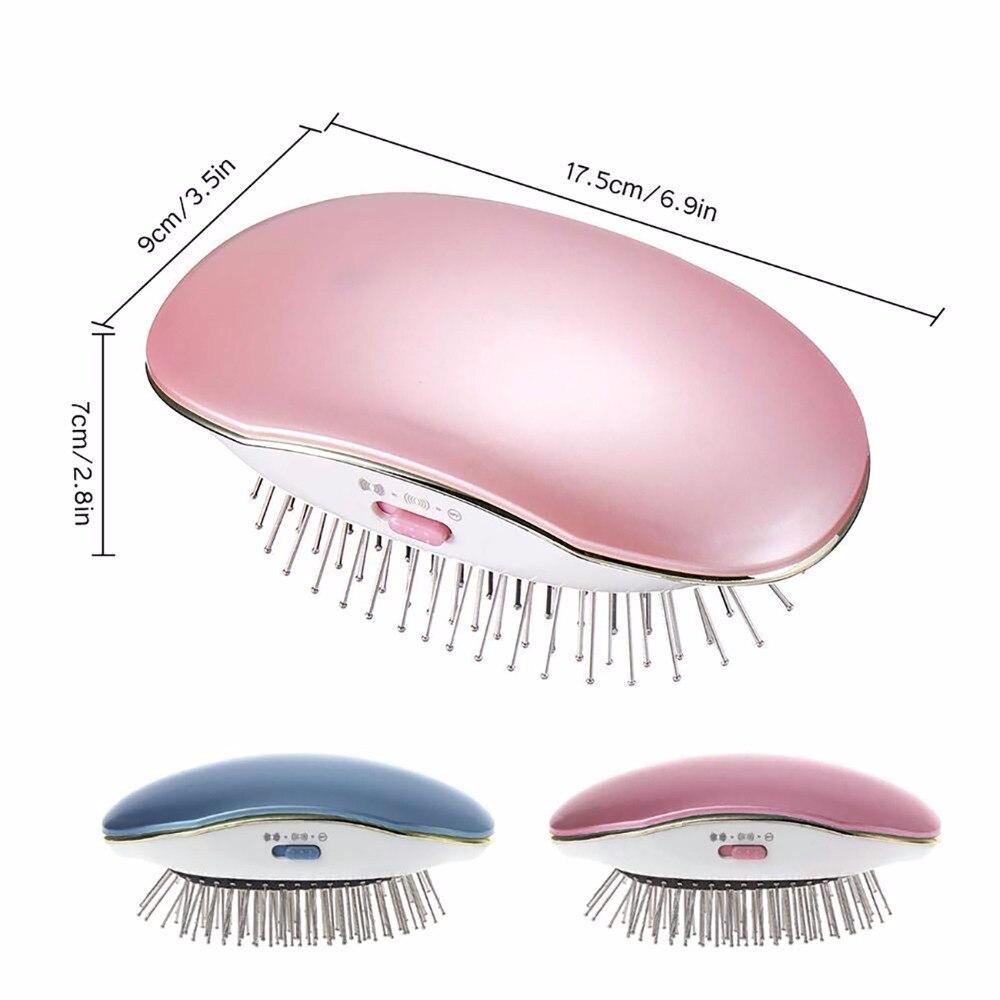 de Cabelo Mini cabelo Liso Anti-estático Pente