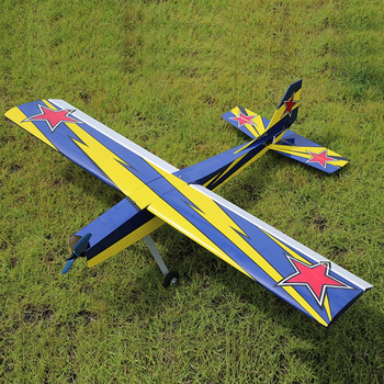 أومفيبي تشالينجر 49 GP 1250 مللي متر وينغسبان بلاسا الخشب RC طائرة المدرب Warbird عدة الإصدار RC في الهواء الطلق طائرات بدون طيار لعبة للمبتدئين 1