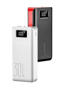 External-Battery-Charger Power-Bank Phone-Tablet Led-Display 30000mah Fast-Charging Micro-Usb
