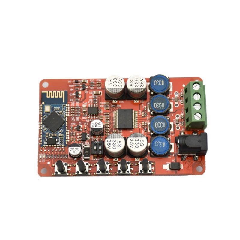 TDA7492P AUX 50Wx2 Bluetooth4.0 Receiver Digital Amplifier Board Acrylic Case