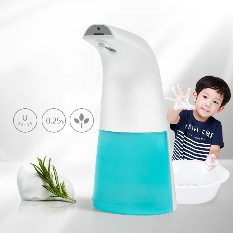 Intelligent 400ml Liquid Soap Dispenser Automatic Contactless Induction Foam Infrared Sensor Hand Washing Device