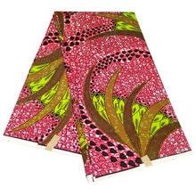 6 ярдов африканский батик из Анкары ткань натурального воска