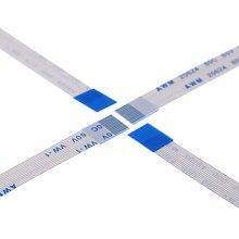 100 cái Linh Hoạt flat cable FFC 12 PIN 0.5 mét pitch Ribbon Flat cùng một bên chiều dài 60 mét 70 100 150 200 250 300 350 400 450 500mm