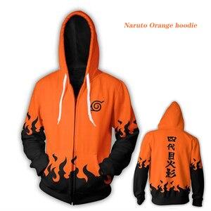 Naruto moletom com capuz 3d casaco sweatshirts cosplay kakashi akatsuki sasuke 3d hoodies pullovers das mulheres dos homens manga longa outerwear topos 5xl