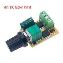 Mini DC Motor PWM Speed Controller 3V 5V 12V 24V 30V DC120W 6A DC Motor Speed Control Switch LED Dimmer