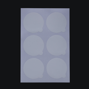 Image 2 - Suporte de cola de cílios descartáveis paletes extensão de cílios cola almofadas cílios adesivos suporte na pedra de jade de cílios