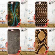 Luxury Phone Case Snake Skin Texture For Huawei Honor Mate 7 7A 8 9 10 20 V8 V9 V10 G Lite Play Mini Pro P Smart(China)