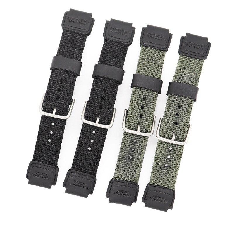 Pulseira de relógio de náilon para casio g-shock GX-56BB GXW-56 pulseira de pulso para casio gx56bb gxw56 relógio inteligente acessórios
