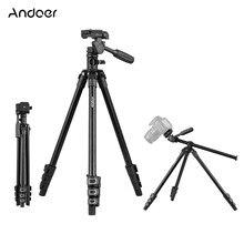 Andoer Q160HA Professional Video Stativ Horizontal Mount Heavy Duty Kamera Stativ für DSLR Kameras Camcorder