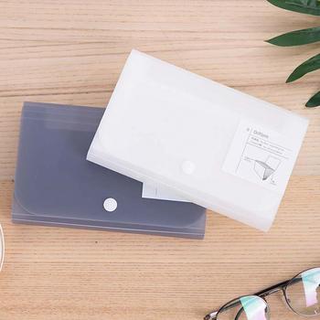 A6 Folder 13 kieszenie Folder plastikowy Organizer do dokumentów uchwyt na pokwitowanie wielofunkcyjny rozkładana teczka Folder biurowy tanie i dobre opinie PHANTACI Rozszerzenie portfel About 17 8*11cm Z tworzywa sztucznego SW023 Expanding Wallet * 1