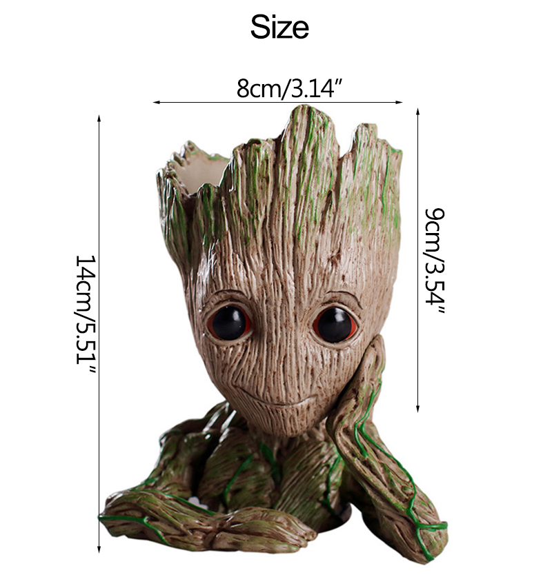 Baby Groot Flower Pot Suitable for Living Room Bed Room and study Room for Full Greenery in House 23