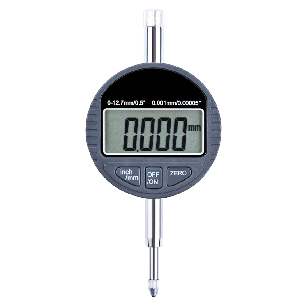 Digital Micrometer 0.01mm 12.7mm Electronic Thickness Gauge Depth Measurement