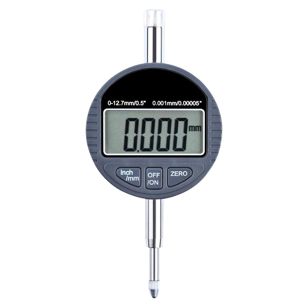 "Measuring Metric 0.001mm LCD Indicator High Accuracy Tool Electronic Micrometer Inch Gauge Digital 0.00005"" Range 0 12.7mm|Micrometers| |  - title="