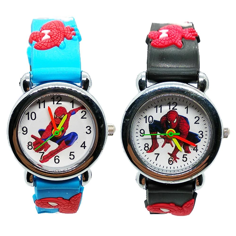Super Hero Spiderman Children Watches For Boys Girls Clock Kids Watch Spider Man Dress Sports Child Watch Baby Birthday Gift Z97