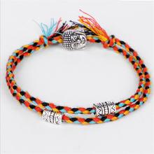 Этнический тибетский буддийский счастливый тканый амулет Тибетский