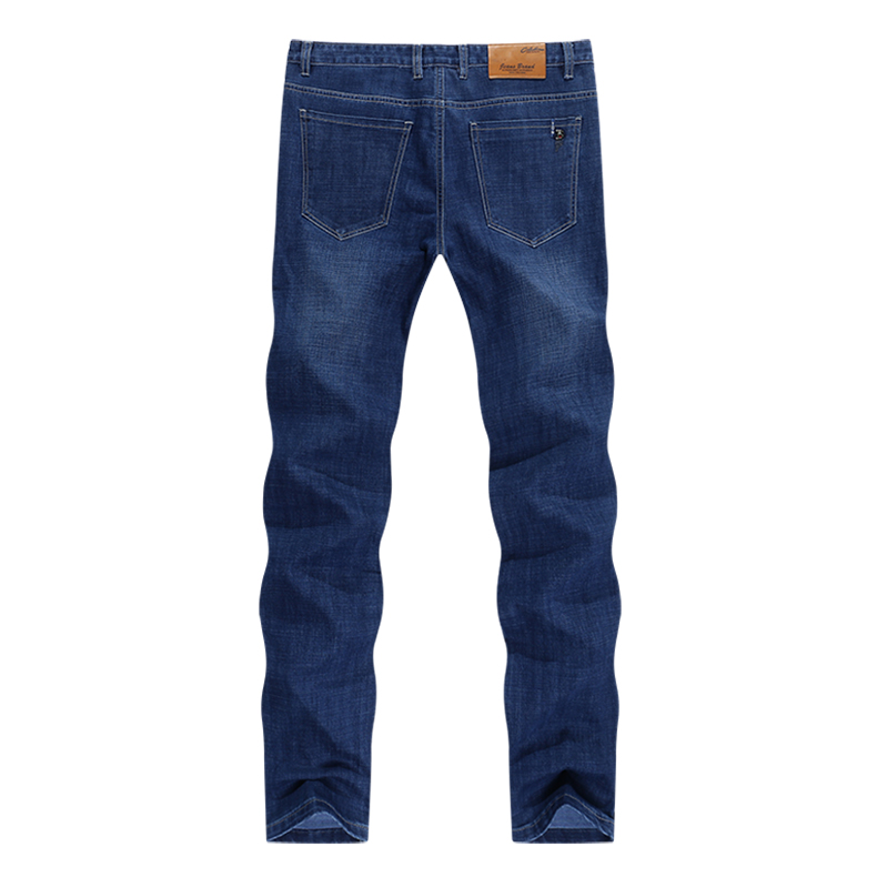 KSTUN New Arrivials Man jeans Brand 2019 Classic Jeans Men Thick Direct Straight Regular Fit Long Trousers Business Casual jean homme 12