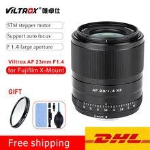Viltrox 23mm f1.4 xf lente de foco automático APS-C lente de abertura grande para câmeras x-mount fujifilm X-T3 X-Pro3 x20 t30 X-T20 X-T100