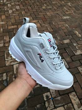 FILA- Women And Men Casual Sporty Shoes Street Fashion Socks And Shoes Simple And Versatile Hot Sale