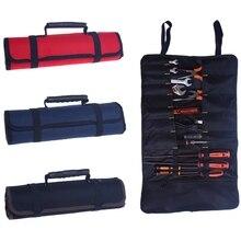 1 шт. дешевая сумка для инструментов рулон ремонтный инструмент сумки для хранения инструментов отвертка плоскогубцы ключ электрик инструмент чехол Высокое качество