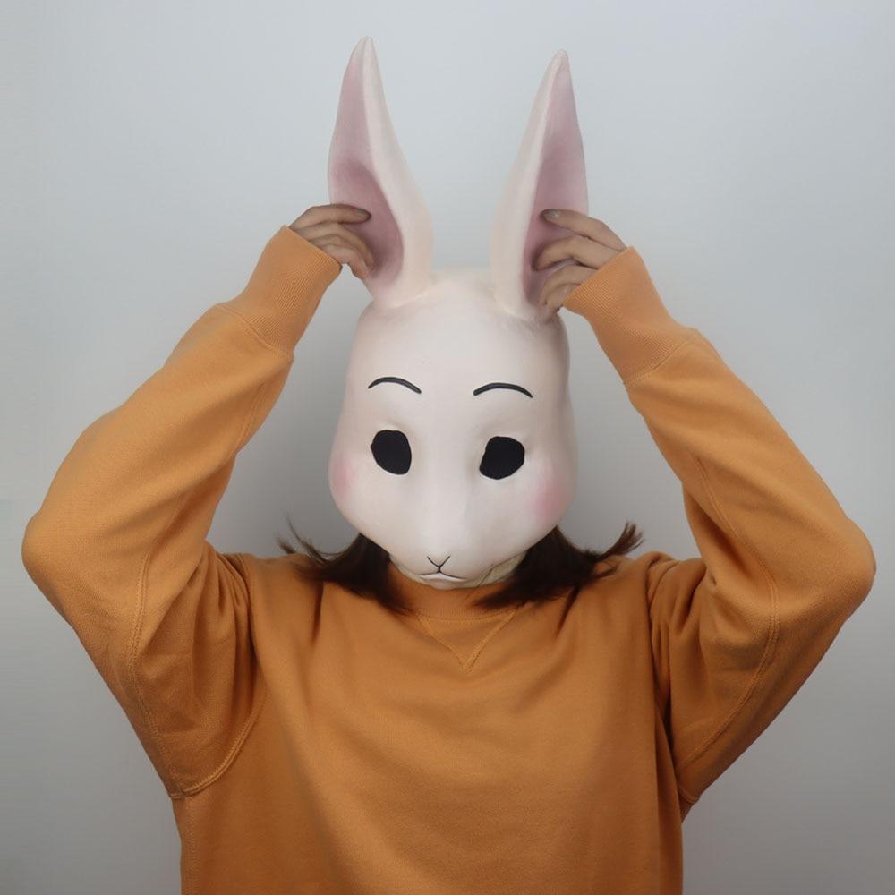 Creacom Maschera in Pelle PU Cosplay Anime , Maschere per Feste di Halloween Maschere in Pelle PU Cosplay Anime Mezzi Cerniera Cosplay Puntelli Maschera