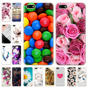 For Huawei Y5 2018 Case 5.45 Inch TPU Phone Case For Huawei Y 5 Y5 Prime 2018 Cover Silicone Case on Huawei Y5 Lite 2018 DRA-LX5(China)
