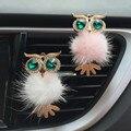 1 шт.  автомобильный освежитель воздуха с кристаллами совы  автомобильный освежитель воздуха  зажим для духов  аксессуары для интерьера  авт...