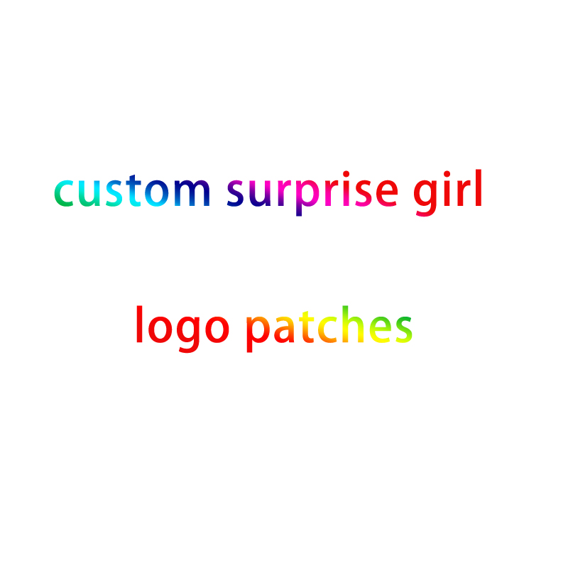 Pulaqi Cartoon LOL Girls Patches Lovely Surprise Doll Embroidery For Clothing DIY Garment Decor Sequins Cloth sticker F
