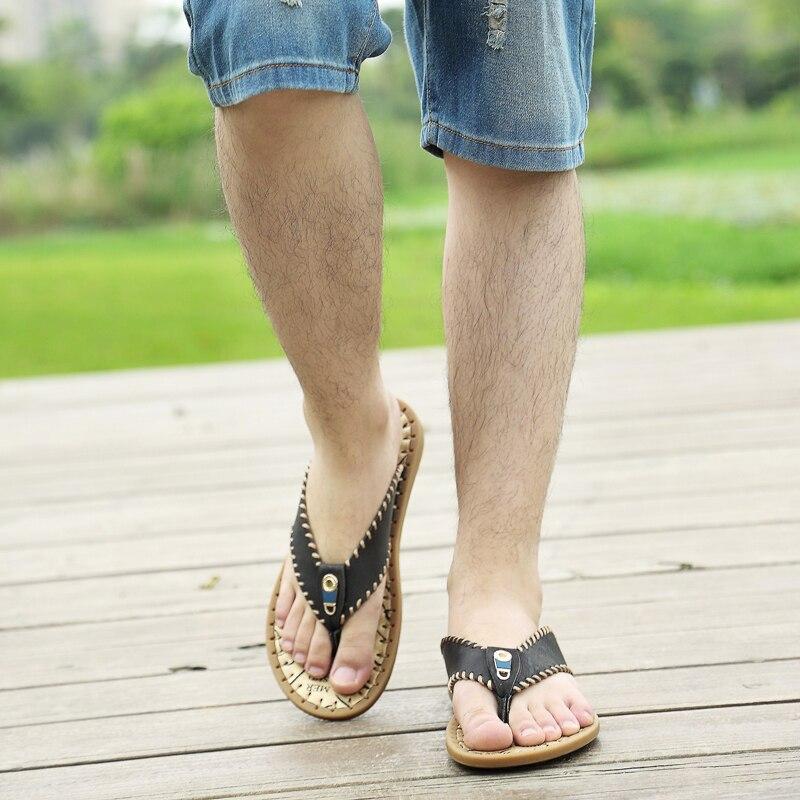 sapatos flop moda chinelo homens flip borracha