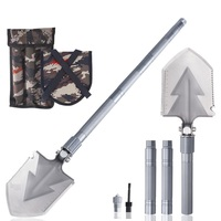77cm/93cm/108cm Length Multi Use Garden Tools Garden Spade Dig Shovel Camping Scoop in Bag