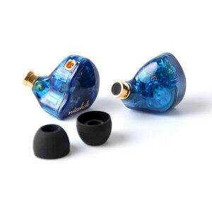 Image 2 - NiceHCK auriculares internos P3, + 1DD 2BA, híbrido, 3 unidades, auricular de alta fidelidad, Monitor IEM MMCX, Cable desmontable DB3 NX7 X49, 2020