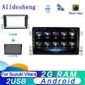 2DIN Android 9,0 для Suzuki Grand Vitara 3 2006 2006 2007 2008-2015 Авторадио автомобильный GPS-навигатор мультимедийный аудио видео плеер