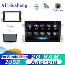 2din android 9.0 para suzuki grand vitara 3 2006 2006 2007 2008-2015 autoradio navegação gps carro multimídia leitor de vídeo de áudio