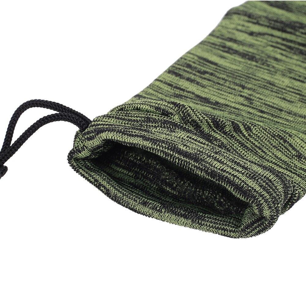 arma protecao capa saco silicone tratado tiro vara de pesca manga caso 02