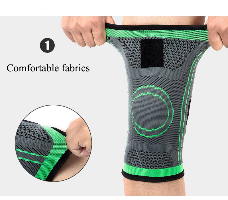 Kneepad Support Professional Protector Sports Knee Pads Breathable Bandage Knee Brace Basketball Tennis Cycling (50)