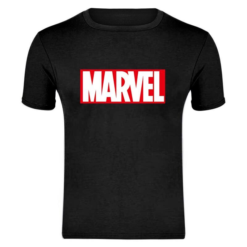MARVEL   T  -  Shirt   2019 New Fashion Men Cotton Short Sleeves Casual Male Tshirt Marvel   T     Shirts   Men Women Tops Tees XXXL