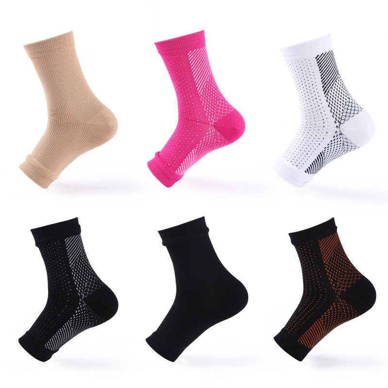 Foot Angel Anti Fatigue Compression Foot Sleeve Support Socks Outdoor Nylon Socks Adult Men And Women New 2020 New