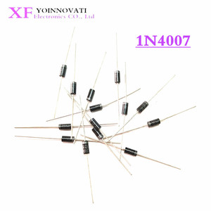 100PCS 1N5817 1N5819 1N5399 1N4937 1N4004 Schottky Rectifier Diode 1N4001 1N4007 UF4007 HER107 FR207 FR157 FR107 RL207 DO-41