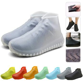 Silicone Rainshoe Sheath Rainproof Waterproof Shoe Sheath Outdoor Wear-resistant And Skid-resistant Shoe Sheath For Children фото