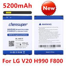 BEW – batterie de téléphone portable 5200mAh, pour LG V20 H990 F800 BL 44E1F