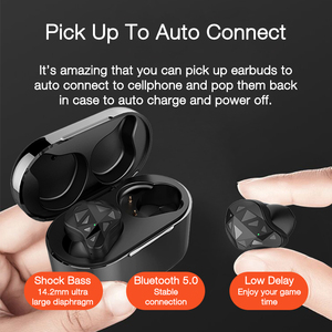 Image 4 - EARDECO prawdziwe bezprzewodowe wkładki douszne TWS sportowe słuchawki douszne słuchawki Bluetooth słuchawki douszne słuchawki bezprzewodowe słuchawki douszne