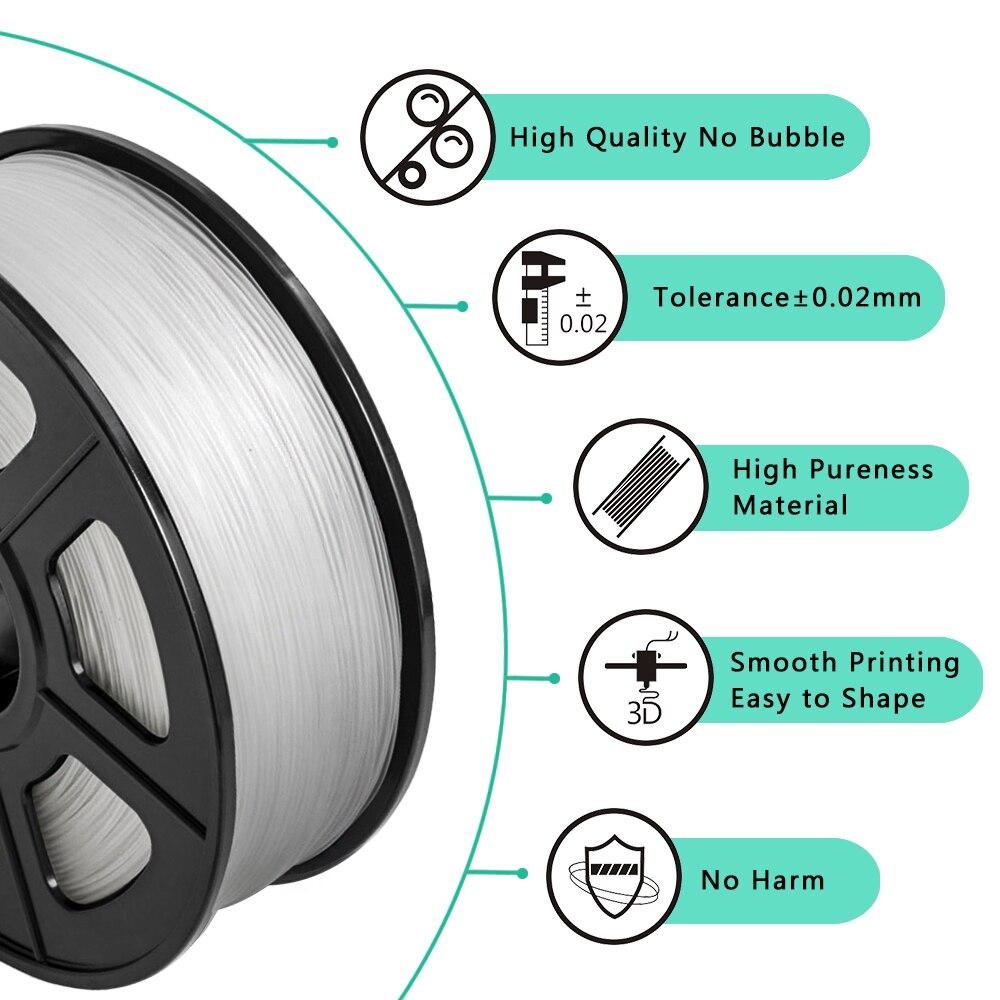 Купить нить для 3d принтера sunlu нить из абс пластика 1 кг 175 мм