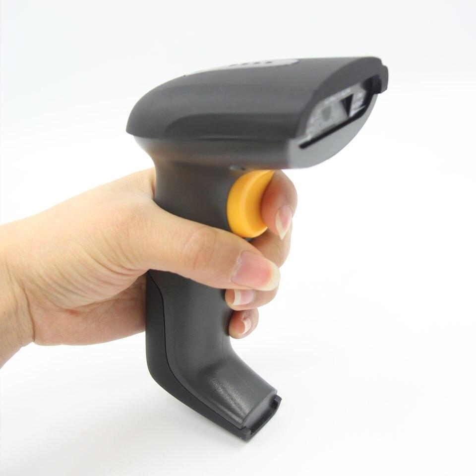 UZQS uccess Wireless 2D Barcode Scanner QR Code Data Matrix Scanner 2.4GHz Wireless Handheld Barcode Reader